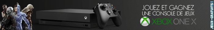 Jouez et gagnez une console Xbox One X