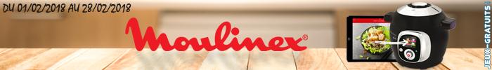 Gagnez un multicuiseur Cookeo Moulinex sur Jeux-Gratuits.com