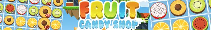 Jouez à Fruit Candy Shop sur Jeux-Gratuits.com
