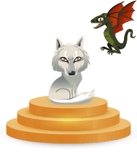 Dragon et Loup (Game of Thrones)