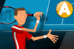 Jeu Stickman Tennis