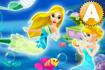 Jeu Mermaid Princess Dress up 3D