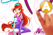 Jeu Winx club, rocks the world