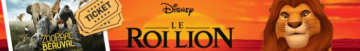 Gagnez des goodies Le Roi Lion et des entrées pour le Zoo de Beauval sur Jeux-Gratuits.com