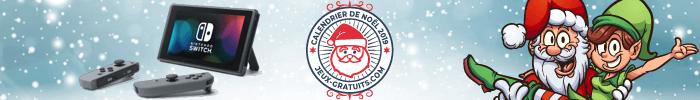Calendrier de Noël 2019 sur Jeux-Gratuits.com