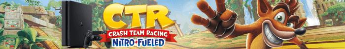 Gagnez une console PS4 et le jeu Crash Team Racing sur Jeux-Gratuits.com