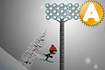 Jeu Stickman Ski Race